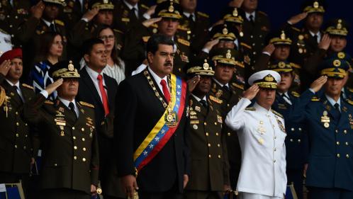 Venezuela : le président Nicolas Maduro affirme avoir échappé à un attentat au drone, revendiqué par un mystérieux groupe rebelle