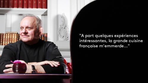 EN IMAGES. Déclarations d'amour et coups de gueule : la cuisine française en onze citations de Joël Robuchon