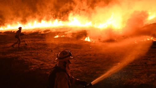 """Incendies en Californie: """"Tant que ce climat ne changera pas, on aura toutes les conditions pour que ces feux perdurent"""""""
