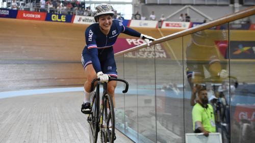 DIRECT. Cyclisme sur piste : la Française Mathilde Gros sacrée championne d'Europe du keirin