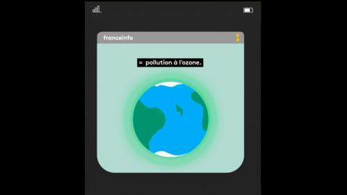 VIDEO. Dis franceinfo, pourquoi l'air est-il pollué quand il fait chaud ?