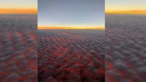 Non, cette photo impressionnante n'est pas une vue aérienne des incendies qui ravagent la Californie