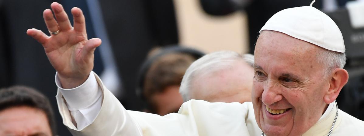 """Le pape François \""""a pesé, et il va peser\"""" sur le débat autour de l\'avortement, selon l\'historien Philippe Levillain."""