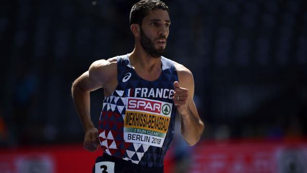 Athlétisme : Mahiedine Mekhissi , roi de l'Europe