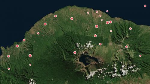 CARTE. Indonésie : 29 séismes ont secoué Lombok en quinze jours