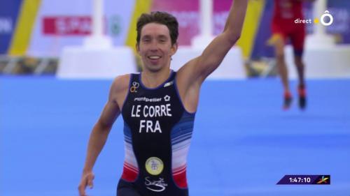 DIRECT. Championnats européens : le Français Pierre Le Corre décroche l'or sur le triathlon. Regardez les épreuves avec francetv sport