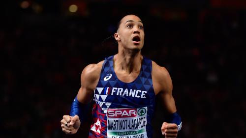 """VIDEO. Championnats européens : """"Je me suis arraché"""", s'exclame Pascal Martinot-Lagarde, médaillé d'or sur le 110 m haies"""