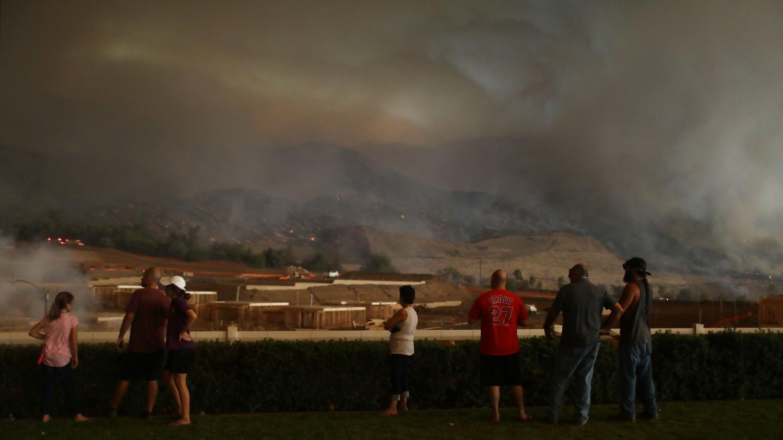 les vastes incendies rendent l 39 air vici dans une partie de la californie. Black Bedroom Furniture Sets. Home Design Ideas