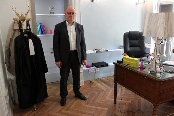 Bernard Boulloud dans son bureau à Grenoble (Isère), le 11 juillet 2018.