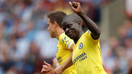VIDEO. Football : rarement buteur, le champion du monde N'Golo Kanté marque dès la première journée de championnat avec Chelsea