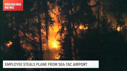 Etats-Unis : un homme vole un avion vide à l'aéroport de Seattle et s'écrase peu après son décollage