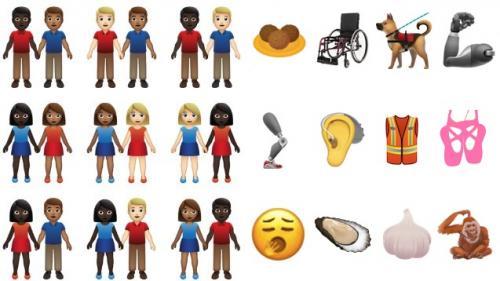 Prothèses, couples mixtes, falafels... Découvrez les émojis qui vont (probablement) arriver sur vos téléphones l'an prochain https://www.francetvinfo.fr/internet/reseaux-sociaux/protheses-couples-mixtes-falafels-decouvrez-les-emojis-qui-vont-probablement-
