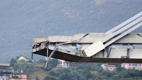 """Effondrement d'un pont à Gênes : """"Il n'y a a priori pas d'erreur de conception"""", estime l'ingénieur du viaduc de Millau"""