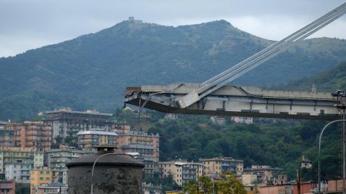 Ce que l'on sait du pont Morandi, qui s'est effondré à Gênes