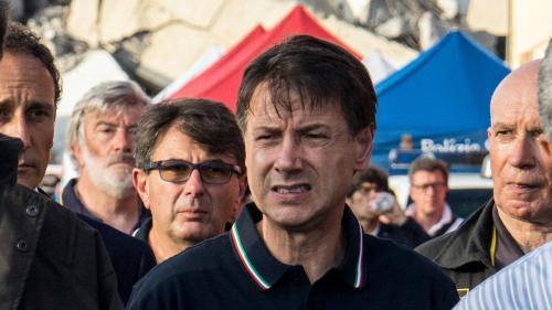 """DIRECT. Effondrement d'un viaduc à Gênes : """"neuf personnes sont peut-être encore sous les décombres"""", déclare Giuseppe Conte"""