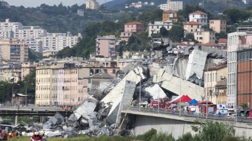 """Effondrement du pont de Gênes : """"Les maisons sous le pont ont été évacuées et seront toutes démolies"""", annonce Matteo Salvini"""