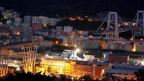 DIRECT. Effondrement d'un viaduc à Gênes : le bilan s'alourdit à au moins 35 morts après une nuit de recherches dans les décombres