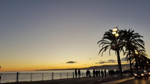Nice : feu d'artifice sous surveillance