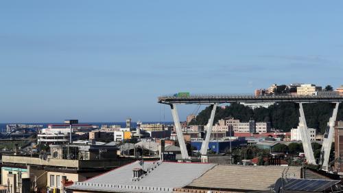 """Effondrement d'un viaduc à Gênes : en France, plus de 800 ponts présentent """"à terme un risque d'effondrement"""""""