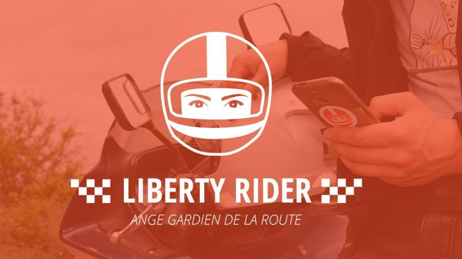 l auto et la moto l appli liberty rider sauve la vie de motards. Black Bedroom Furniture Sets. Home Design Ideas