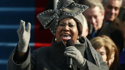 VIDEO. Quand Aretha Franklin chantait pour l'investiture de Barack Obama en 2009