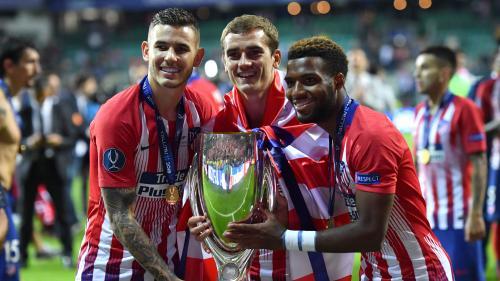 Foot : l'Atletico Madrid de Griezmann remporte la Supercoupe d'Europe face au Real Madrid (4-2)