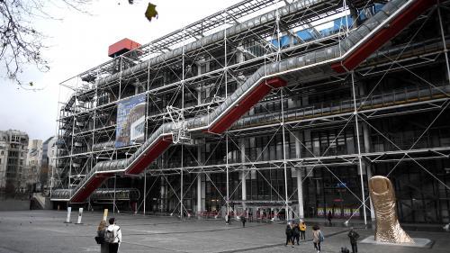 Le Centre Pompidou va rénover ses emblématiques escaliers extérieurs