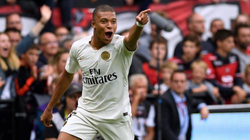 Ligue 1 : Paris bat Guingamp grâce à un doublé de Mbappé