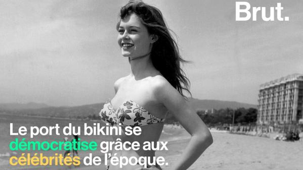 VIDEO. Costume de bain, bikini, burkini… Retour sur l'histoire du maillot de bain féminin