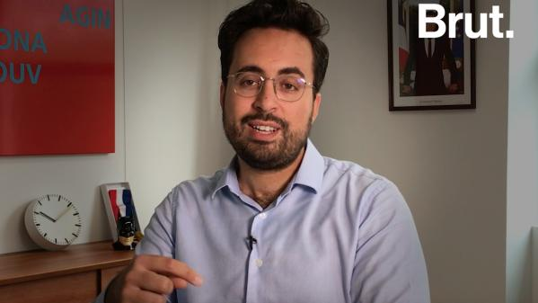 VIDEO. Quand Mounir Mahjoubi explique pourquoi il a accepté de poser en une de Paris Match avec son compagnon