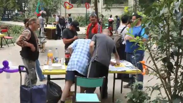 nouvel ordre mondial | VIDEO. Paris : des associations organisent une fête pour les SDF