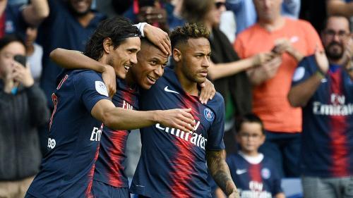 Ligue 1 : pour le retour de Cavani, le PSG s'impose 3-1 face à Amiens