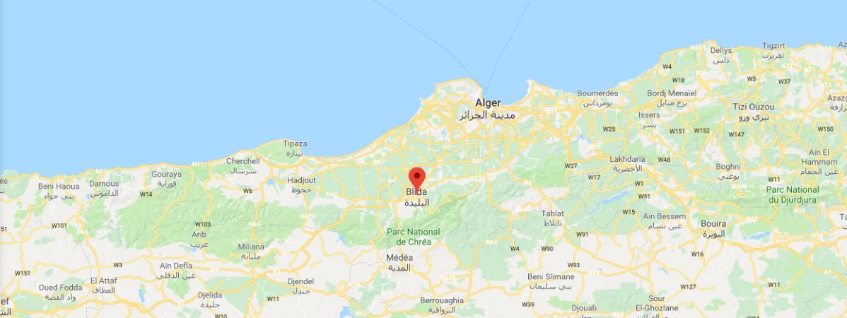 Carte Algerie Blida.Algerie 46 Personnes Contaminees Et Deux Tuees Par Le Cholera