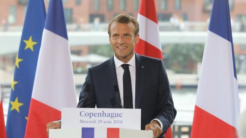 """Expliquez-nous... """"L'arc progressiste"""" qu'Emmanuel Macron souhaite mettre en place en Europe."""