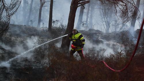 nouvel ordre mondial | Incendies dans les Bouches-du-Rhône: trafic ferroviaire coupé entre Martigues et Marseille dans les deux sens