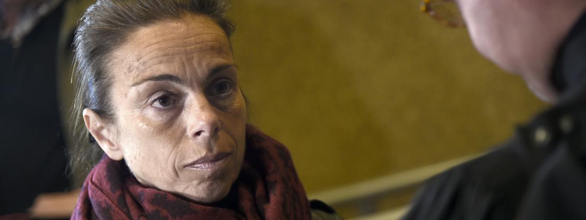 Agnès Saal autribunal de Créteil (Val-de-Marne), le 11 avril 2016.