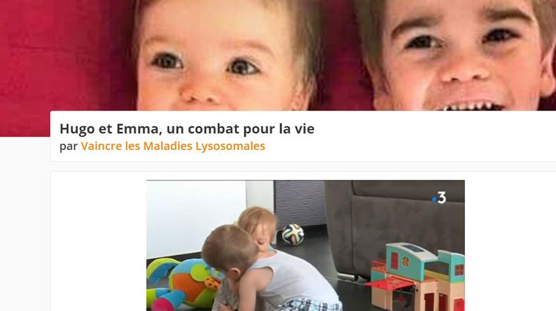 un appel aux dons pour sauver deux enfants atteints d 39 une maladie rare. Black Bedroom Furniture Sets. Home Design Ideas