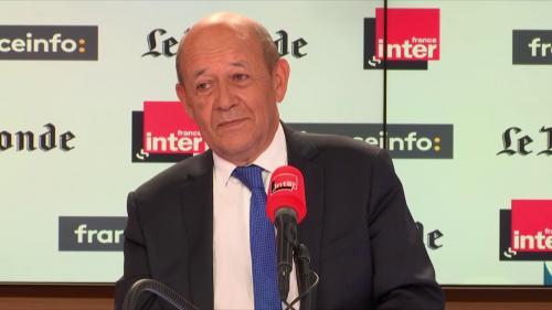 """""""Jamais il n'y aura eu d'élections européennes aussi fortes et aussi nécessaires"""", affirme Jean-Yves Le Drian"""