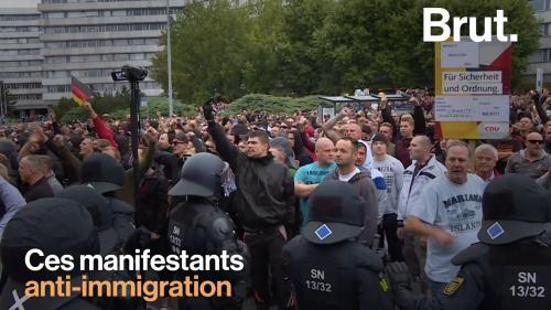 VIDEO. En Allemagne, des manifestations anti-immigration inquiètent