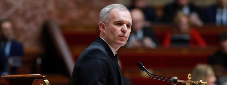 François de Rugy, alors président de l\'Assemblée nationale, le 18 avril 2018.