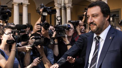 Allemagne : le ministre italien Matteo Salvini met en cause Angela Merkel après les violences de Chemnitz