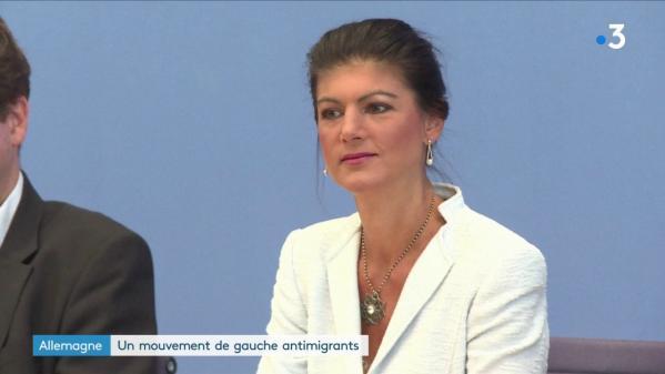 Allemagne : un parti de gauche défavorable aux migrants se fait entendre