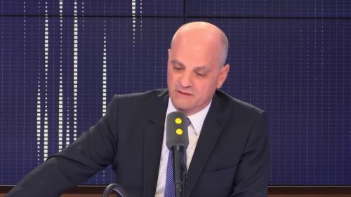 """VIDEO. """"Je n'avais pas entendu la virgule"""": quand le ministre de l'Éducation se trompe sur un accord du participe passé avec l'auxiliaire avoir"""
