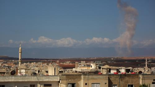 """VIDEO. En Syrie, exode massif à Idleb où l'ONU craint la """"pire catastrophe humanitaire"""" du siècle"""