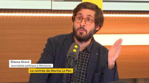 """Les informés. Élections européennes : le thème de campagne retenu par Emmanuel Macron est """"totalement favorable à Marine Le Pen"""""""