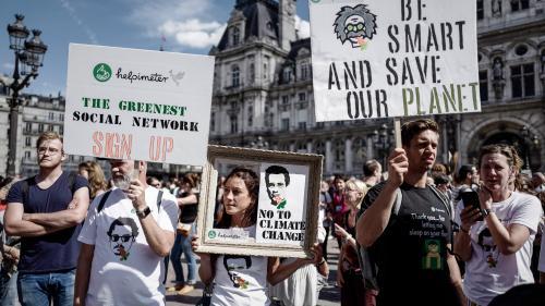 DIRECT. Des milliers de personnes à Paris pour la marche pour le climat, des manifestations partout dans le monde
