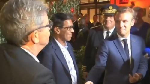 La rencontre entre Jean-Luc Mélenchon et Emmanuel Macron à Marseille était-elle organisée ?