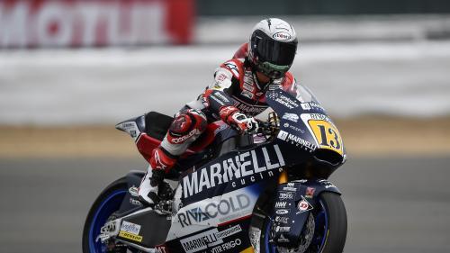 Moto : l'Italien Romano Fenati exclu du Grand Prix de San Marin pour avoir appuyé sur le frein de l'un de ses adversaires