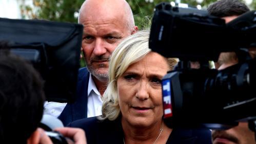 """Emplois fictifs au Parlement européen : """"Nous risquons la mort du Rassemblement national"""", déclare Marine Le Pen"""
