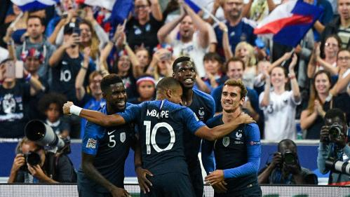 DIRECT. Ligue des nations : les Français dominent largement le match face aux Pays-Bas (1-à la pause)